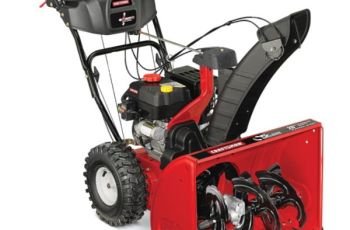 2014 Craftsman 26 in 208cc Model 88970 Two-Stage Snow Blower Review 35