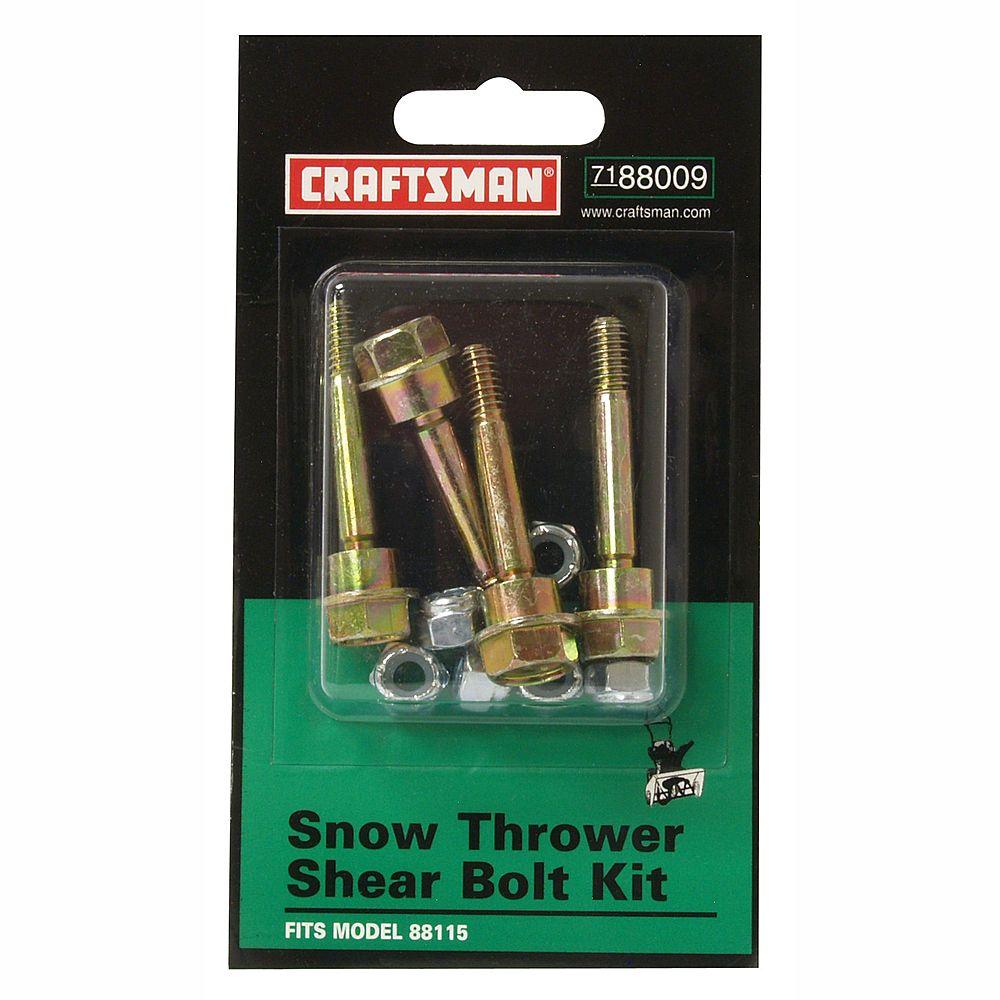 Shear Pins For Craftsman, Cub Cadet, Ariens Snow Blowers