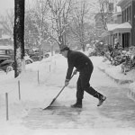 1940's Snow Shovel