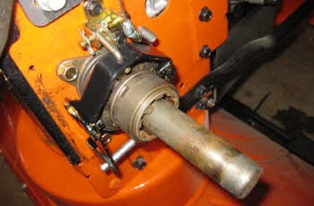 Does The Power Steering On Your Husqvarna Stick? Here is a quick fix. 3