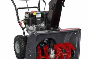New 2015 Briggs & Stratton Snow Blowers - My Review 12
