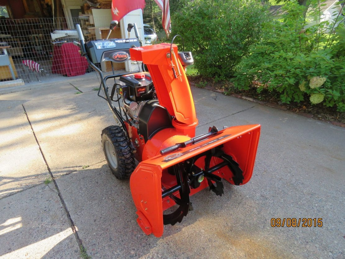 Ariens Deluxe SHO Picture Review MovingSnow