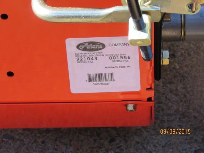 Ariens Deluxe 28 SHO Model 921044