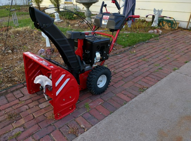 2015 Troy-Bilt Vortex 2490 Left Front