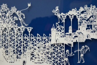 Les sculptures sur papier d'Emma Van Leest