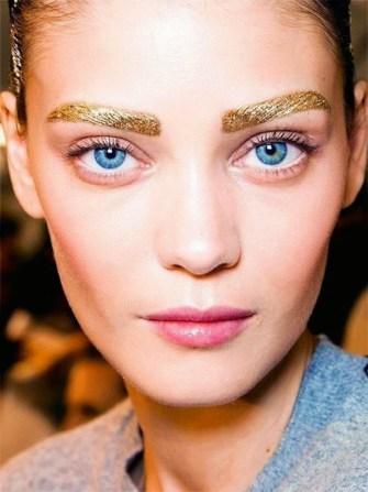 Gold & glitter pour 2015
