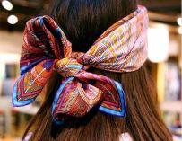 Le foulard : L'accessoire tendance pour cheveux