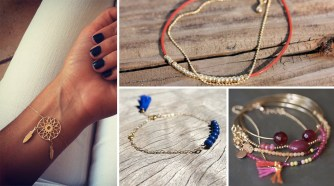 Le lookbook des bracelets chics et glamour !