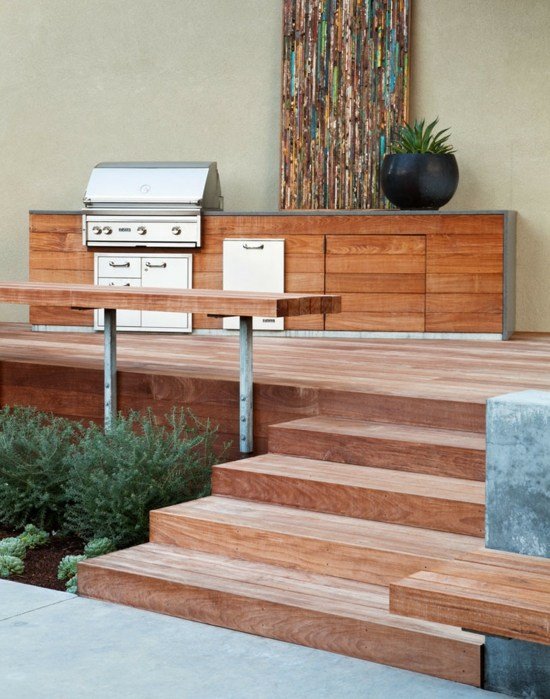 Créer son espace barbecue 14