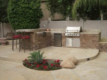 Créer son espace barbecue 9