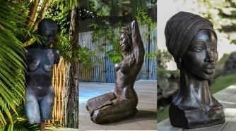 Djamila sculpte les âmes