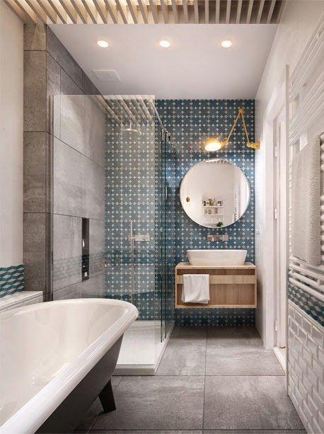 Le rev tement mural d 39 une salle de bain moving tahiti - Salle de bain revetement mural ...