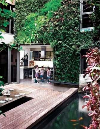 Un vrai jardin à l'intérieur de chez vous – Des plantes sur vos murs