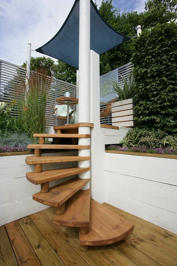 2.escalier-de-jardin-design-moderne - Moving Tahiti