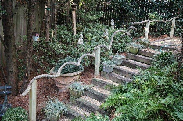 Des escaliers dans votre jardin - Moving Tahiti