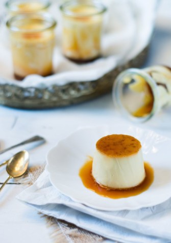 Crème caramel by Thierry Mulhaupt