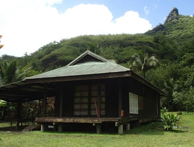 Premier refuge, juste après avoir traversé la Papenoo
