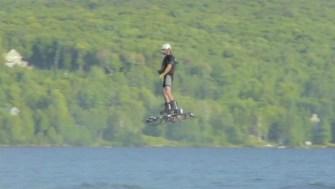 Alexandru Duru et son record en Hoverboard
