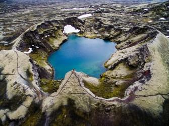 L'Islande vue du ciel, par Jakub Polomski