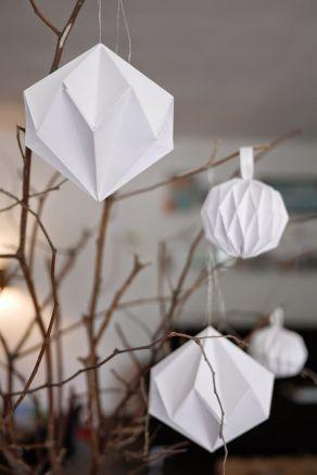 DIY Décorations de Noël en papier 09
