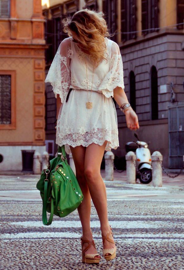 La robe Blanche (4)
