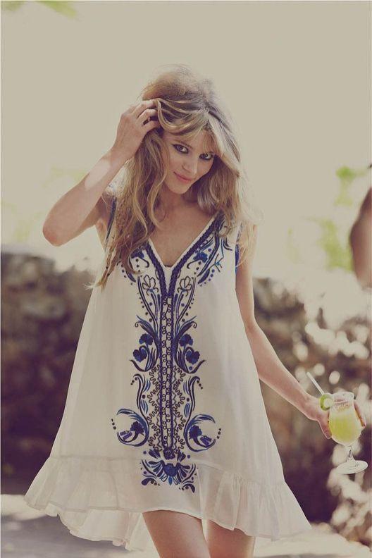 La robe Blanche (8)