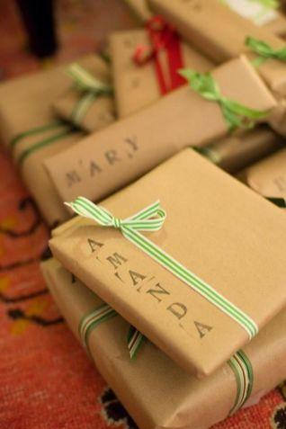 Des idées d'emballages cadeau 02