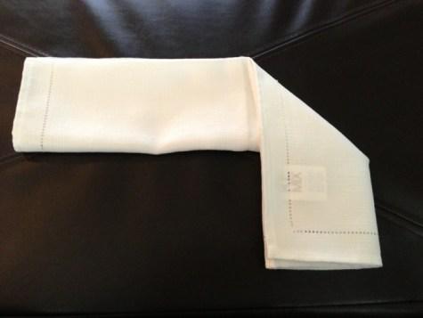 Décoration de Pâques - pliage de serviettes 04
