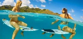 GoPro : Johanne Defay et Bianca Buitendag dans un surf trip de rêve !