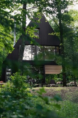 Fahouse, maison familiale par l'architecte Jean Verville