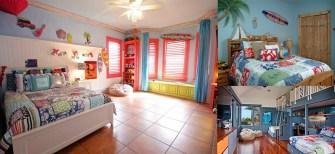 Une chambre tropicale pour votre enfant
