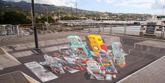 ONO'U 2016 : Le street art en 3D de Leon Keer
