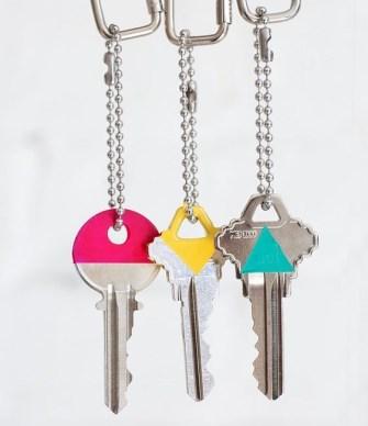 DIY : Customisez vos clés avec du vernis à ongles