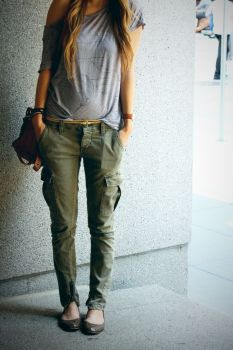 Le pantalon treillis (25)