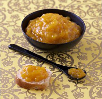 La confiture à la mangue et au citron vert