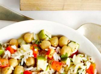 Salade de riz revisitée