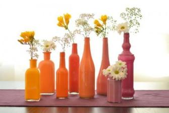 DIY : Comment customiser des bouteilles en verre ?