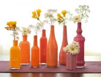Comment customiser des bouteilles en verre ?