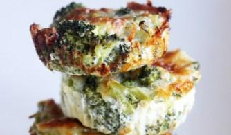 La recette de bouchées brocoli-mozarella
