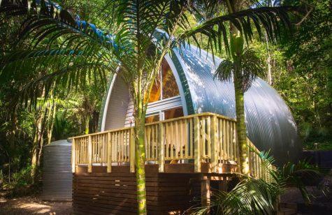 Petit chalet privé sur l'île de Waiheke, en Nouvelle-Zélande 01