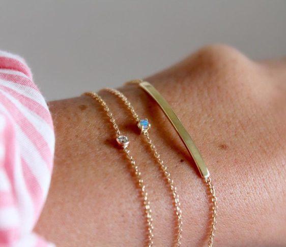 Tendance aux bijoux extras fins 14