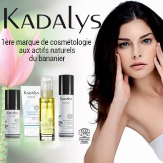KADALYS, les cosmétiques aux actifs naturels du bananier