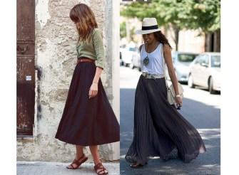 La jupe longue noire, classique et originale à la fois