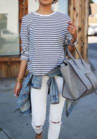 Comment bien porter le jean blanc 05