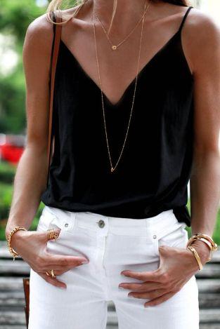 Comment bien porter le jean blanc 12