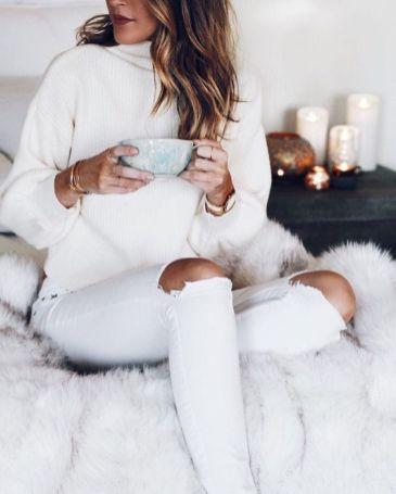 Comment bien porter le jean blanc 14