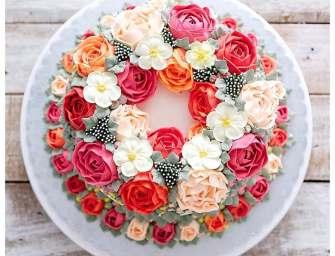 Les gâteaux fleuris de Iven Kawi