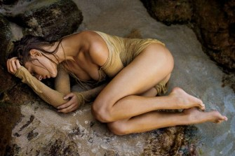 Lana Zakocela sous l'oeil de Gilles Bensimon