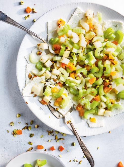 Salade de céleri et feta