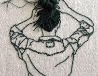 Les délicates broderies de l'artiste Sheena Liam